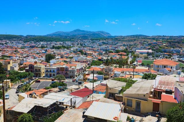 podróże, wakacje, miasto z góry, najpiękniejsze miasto Krety