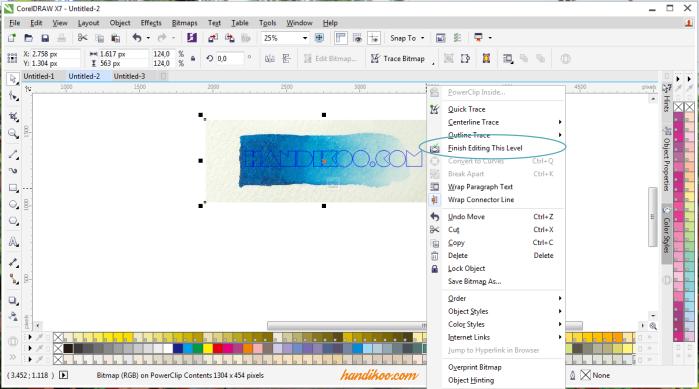 Belajar CorelDraw dan Tutorial CorelDraw - Desain Font Tulisa dengan Pola Pattern unik