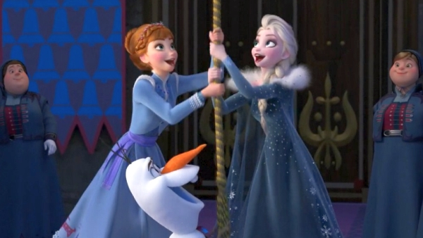 Olaf's Frozen Adventure Ring in the Season song