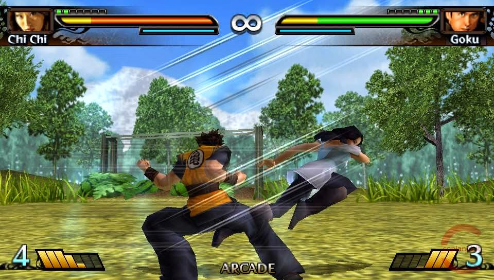 download dragonball evolution game