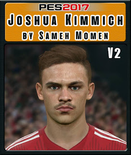 PES 2017 Faces Joshua Kimmich by Sameh Momen