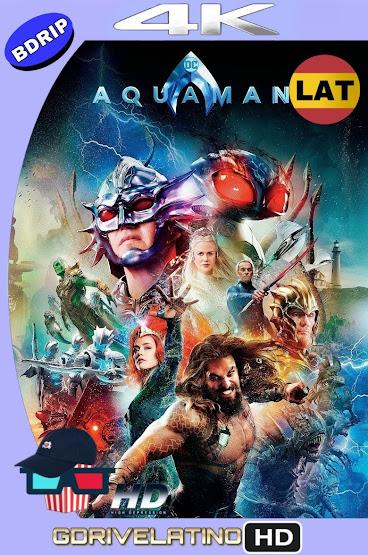 Aquaman (2018) IMAX BDRip 4K HDR Latino-Ingles MKV