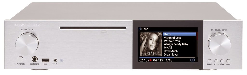 Mono And Stereo High End Audio Magazine Novafidelity X40