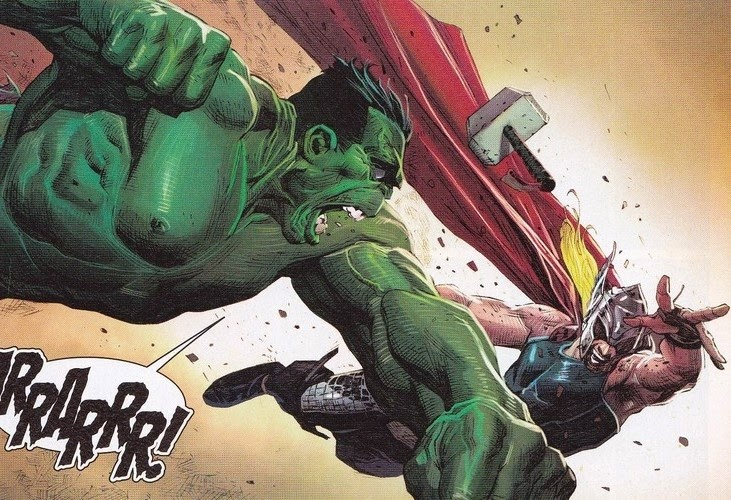 hero envy the blog adventures hulk vs thor
