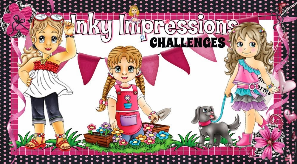INKY IMPRESSIONS CHALLENGE BLOG