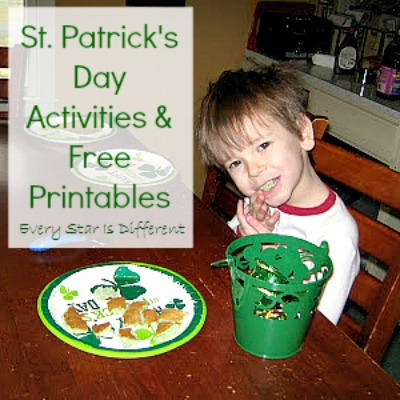St. Patrick's Day Activities and Free Printables