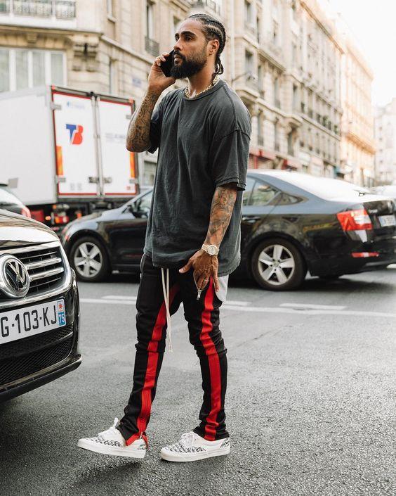 track pants masculina