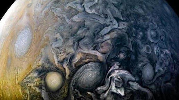 Tutta la bellezza del pianeta Giove in una fotografia della NASA su Instagram