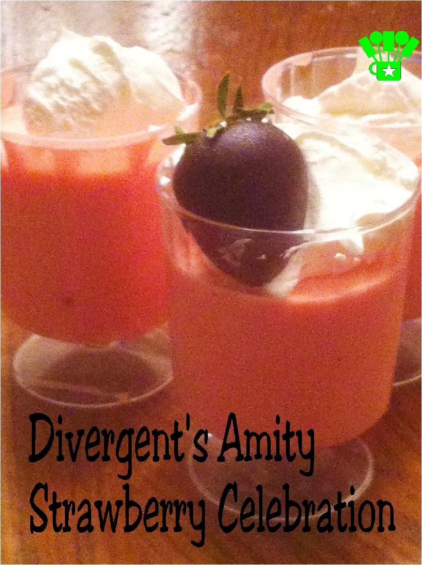 Divergent Amity Strawberry Celebration Recipe by Kims Kandy Kreations