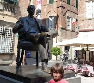 Monumenti de Giacomo Puccini.