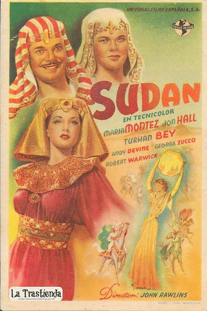 Sudán - Programa de Cine - Maria Montez - Jon Hall
