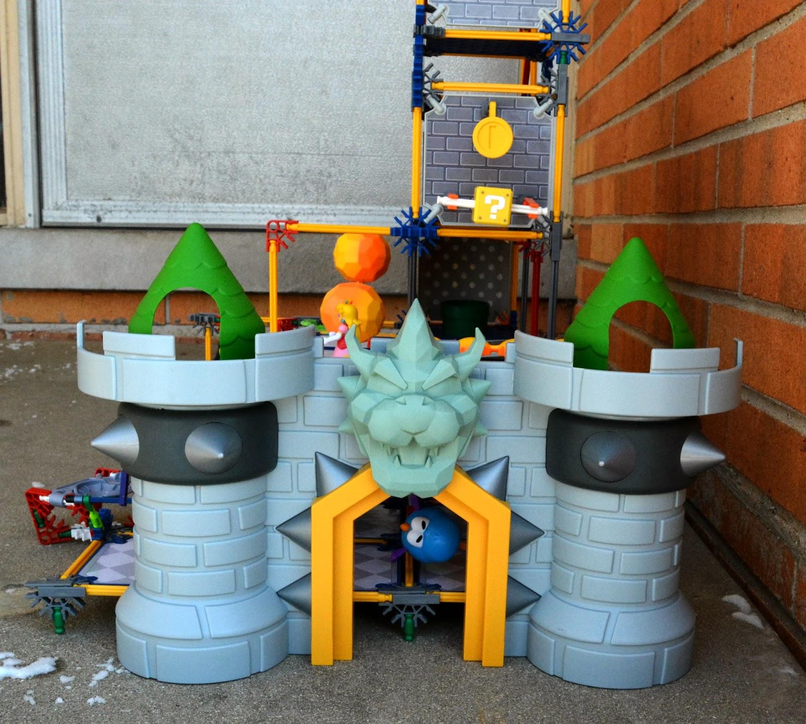 Super Mario 3d Land Bowser S Castle Building Set Rosie