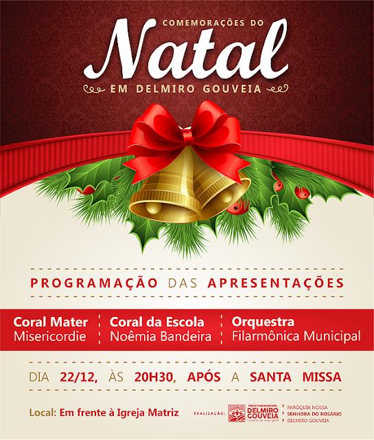 Participe das comemorações do Natal em Delmiro Gouveia nesta sexta-feira (22)