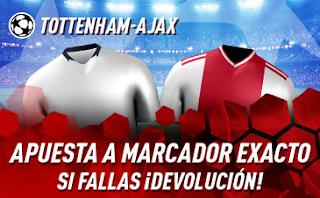 sportium Promo champions Tottenham vs Ajax 30 abril 2019