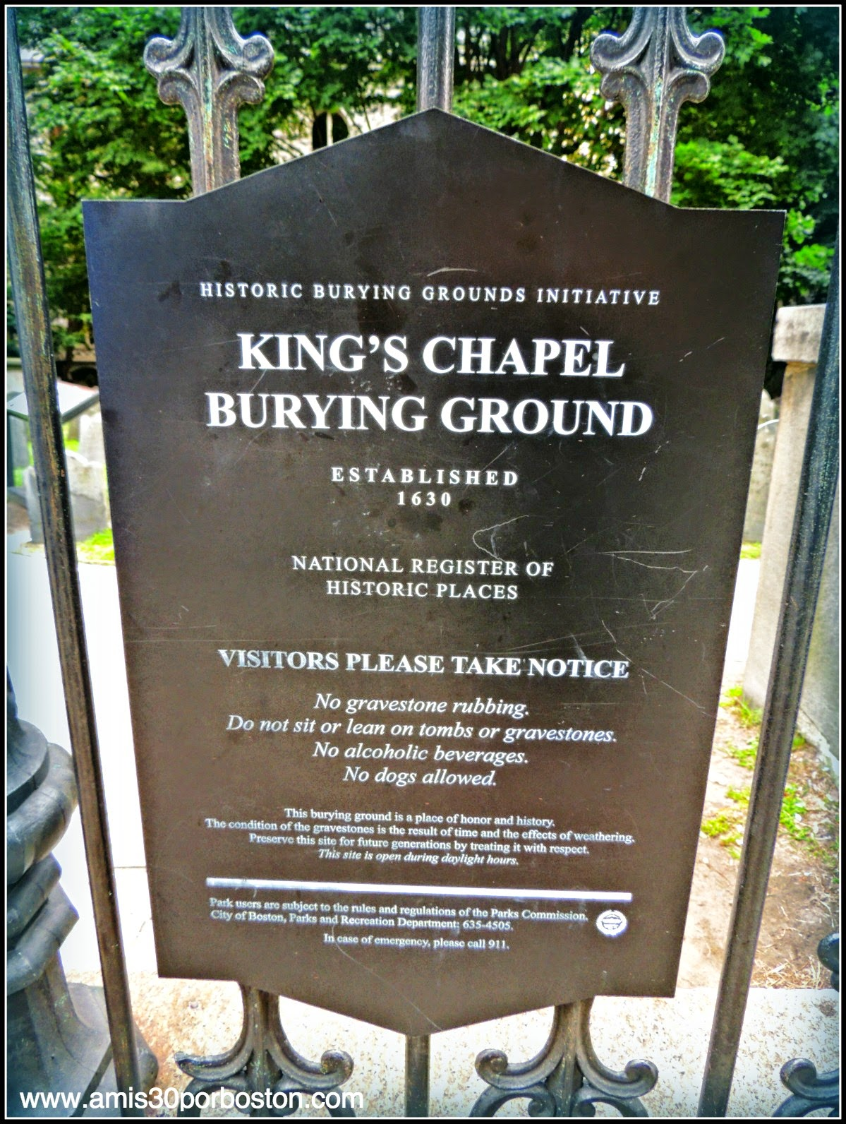 King´s Chapel & Burying Ground