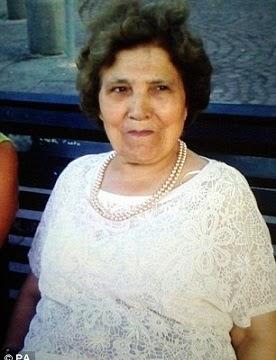 grandmother beheaded london