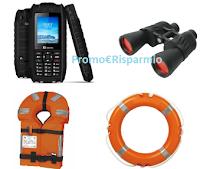 Logo Campello Marine: vinci gratis telefono satelitare, binocolo, ciambelle e giubbini salvataggio