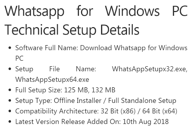 Download WhatsApp Software for Windows PC