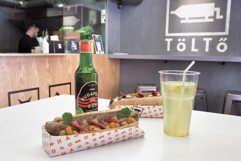 Cuisine de street food à Budapest : Tolto