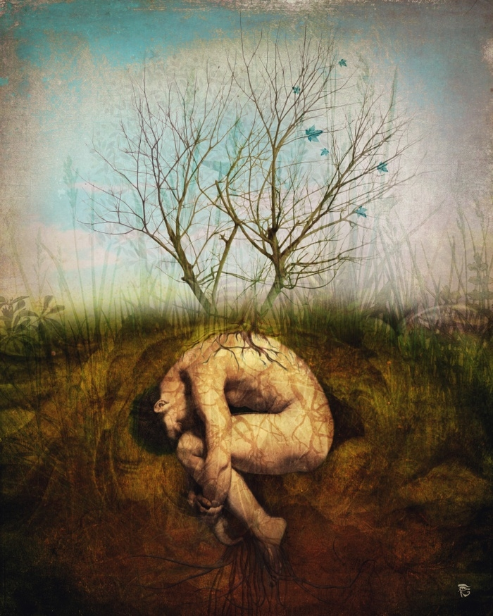 07-The-Dreaming-Tree-Christian-Schloe-Digital-Art-combining-Dreams-with-Surreal-Paintings-www-designstack-co