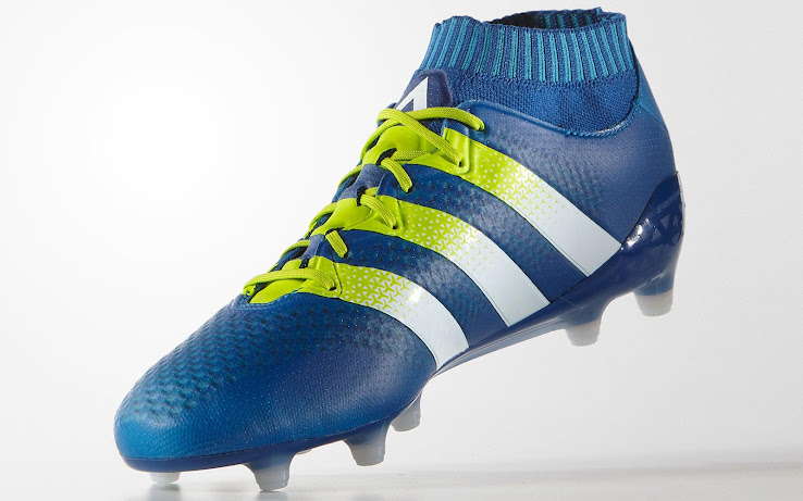 Blue Adidas Ace 16+ Primeknit Boots Released - Footy Headlines a9a80c9e86c85