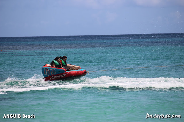 water sports at Anguib Beach, Sta. Ana Cagayan
