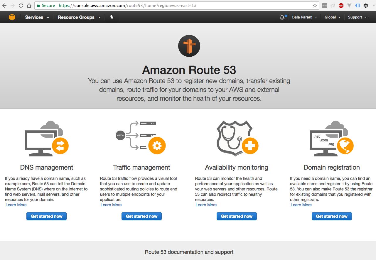 Amazon Route 53 Basics