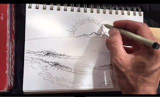 how to draw tips Paul Carter