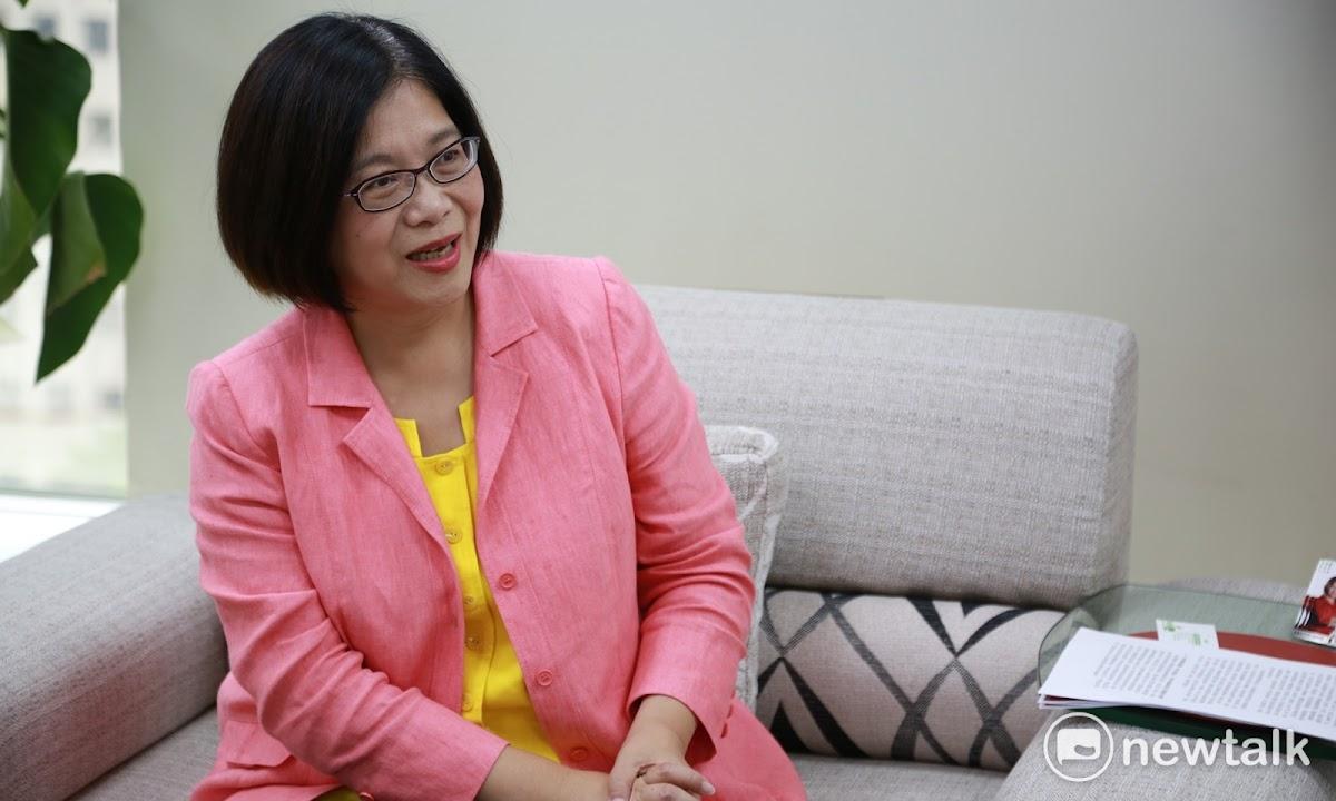 民進黨立委管碧玲表示,如果行政院提出同婚專法,她不會反對。