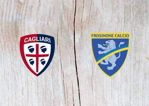 Cagliari vs Frosinone - Highlights 20 April 2019