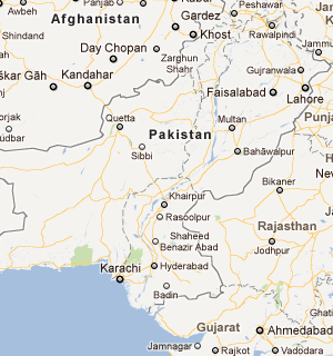 """Pakistan_google_satellite_map_recent_natural_disasters_in_pakistan_پاکستان میں حالیہ قدرتی آفات"""