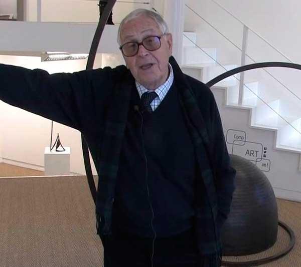 Martín Chirino ha muerto a los 94 años en un hospital de Madrid