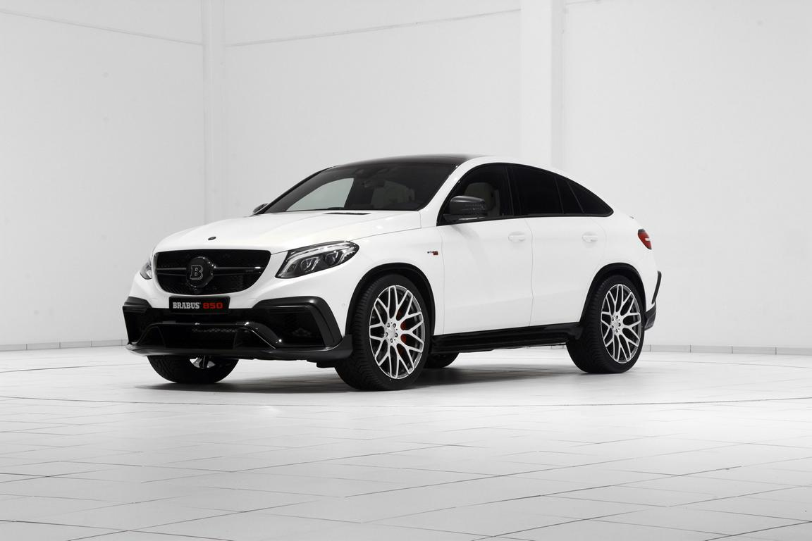 Brabus 850 mercedes benz w292 gle63 amg benztuning for Mercedes benz 850