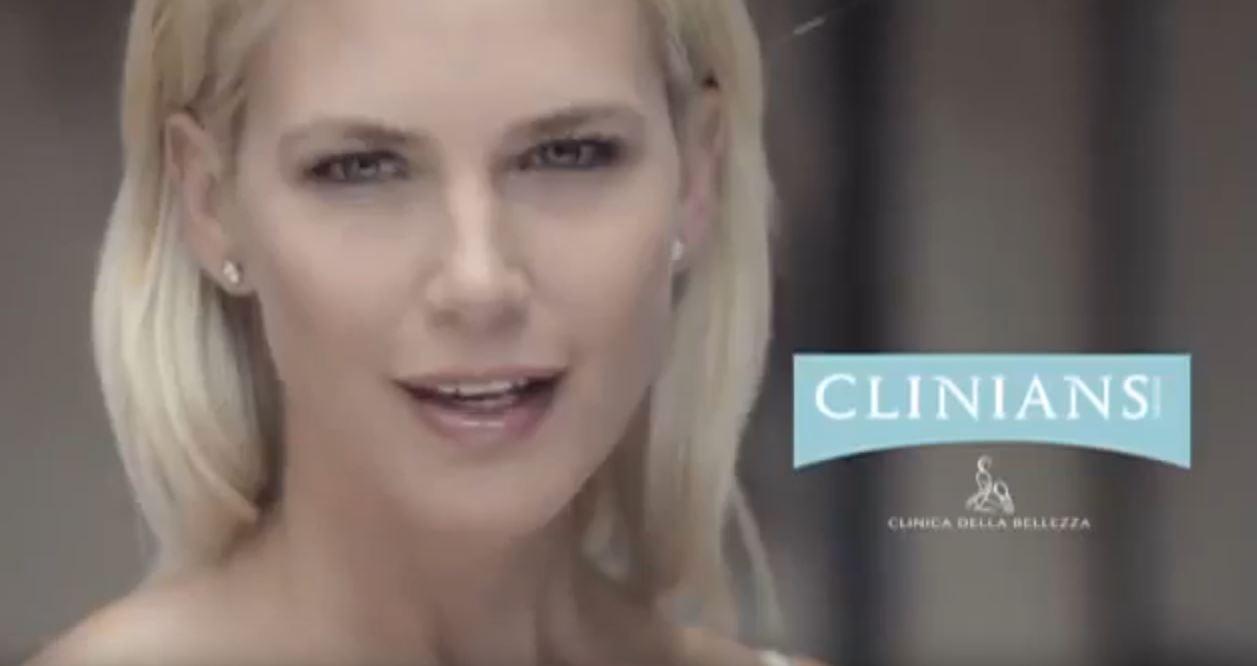 Pubblicità Clinians spot con Valeria Mazza (modella bionda) – Musica/Sigla Febbraio 2017