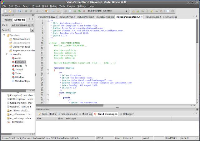 sfml code blocks linux download