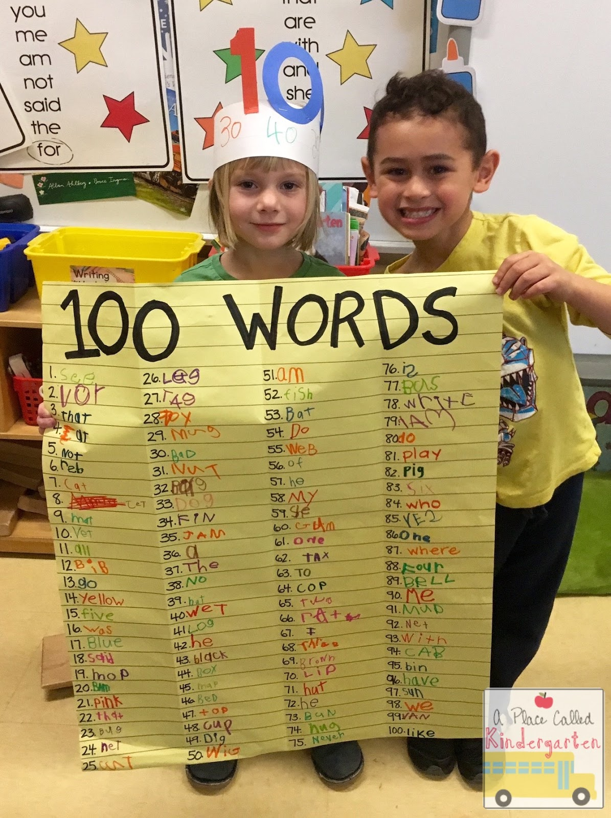 A Place Called Kindergarten 100th Day Fun In Kindergarten