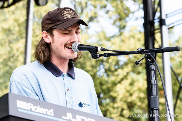 Everett Bird at Royal Mountain Records Festival at RBG Royal Botanical Gardens Arboretum on September 2, 2018 Photo by John Ordean at One In Ten Words oneintenwords.com toronto indie alternative live music blog concert photography pictures photos