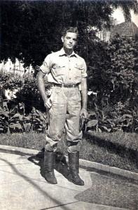 Luiz Edmundo Appel em Vitória, ES, março de 1950.