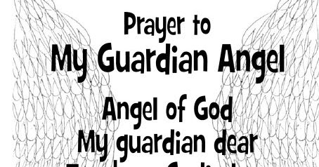 photo regarding Guardian Angel Prayer Printable called Seem to be in the direction of Him and be Radiant: Praying with the Angels
