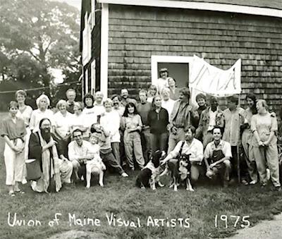 (UMVA) Union of Maine Visual Artists 1975