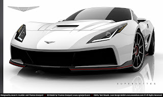 SuperVette transformiert die C6 zur C7 Stingray
