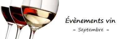 blog vin beaux-vins vins événements vin septembre calendrier agenda
