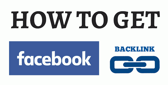how to get backlink from facebook