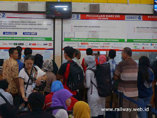 Sistem Boarding Pass di Stasiun Gubeng