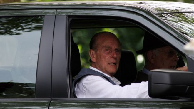 Prince Philip will not be prosecuted over crash