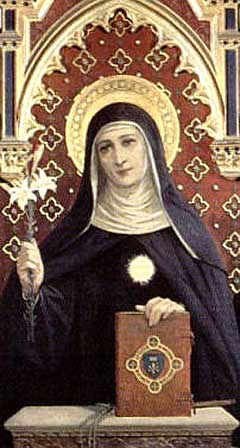 Liturgia Latina 19th June St Juliana Falconieri Virgin