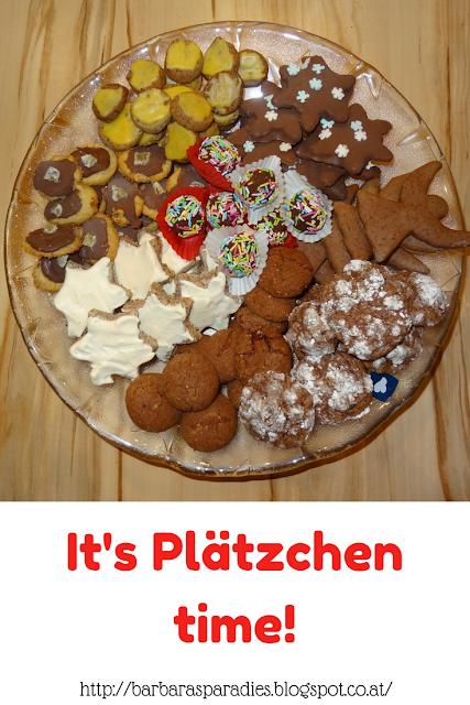 It's Plätzchen time!