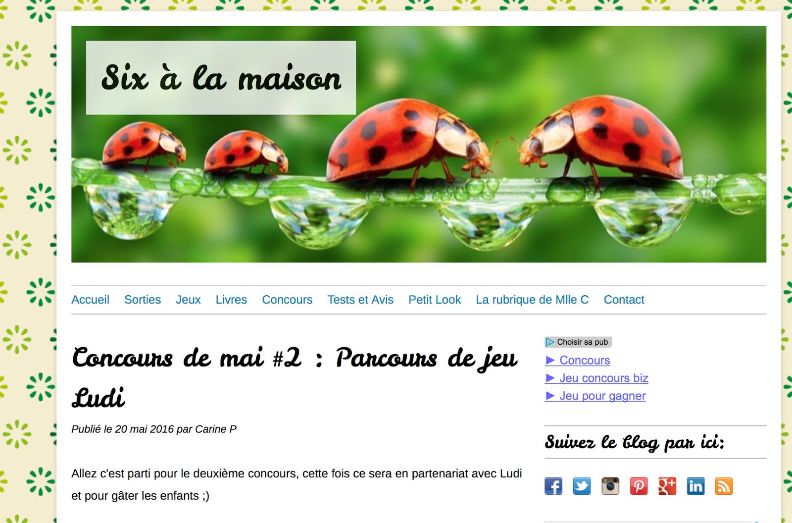 Super H Ros Et Compagnie Jeu Concours Sur Le Blog Six
