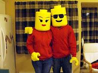 Disfraces Lego para parejas