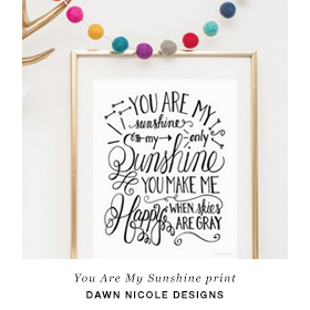 Free downloadable print by Dawn Nicole Designs